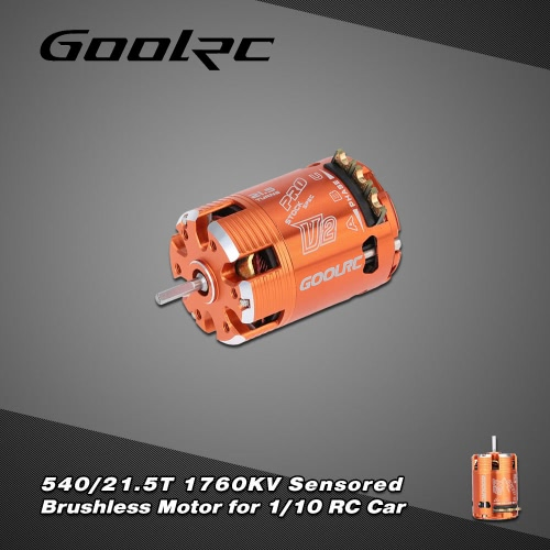 GoolRC 540 / 21.5T 1760KV Sensored Brushless Motor für 1/10 RC-Car