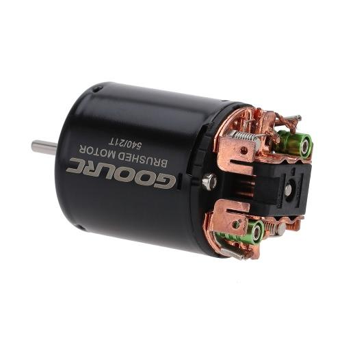 GoolRC 540 21T 4 Pole gebürstet Motor für 1/10 1/12 4WD RC Auto