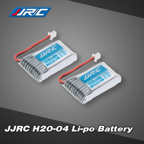 2Pcs Original JJRC H20 RC Hexacopter Part H20-04 3.7V 150mAh 30C Li-po Battery