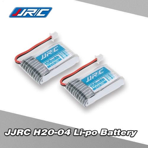 2Pcs JJRC H20 RC Hexacopter Part H20-04 3.7V 150mAh 30C Li-po Battery