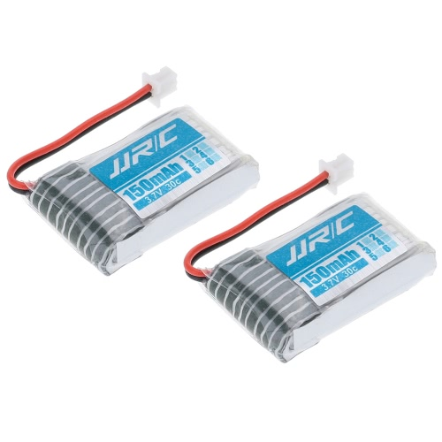 (EAN: 601116407150) 2Pcs JJRC H20 RC Hexacopter Part H20-04 3.7V 150mAh 30C Li-po Battery