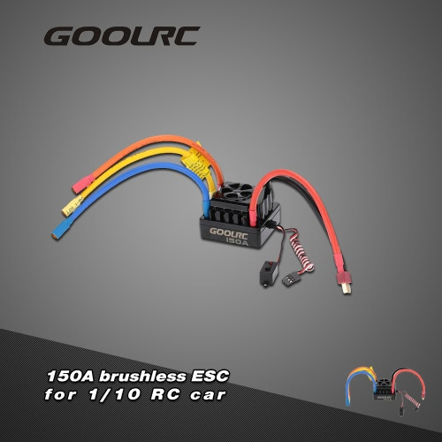 GoolRC 150A 2~6S LiPo Battery Sensored Brushless Electronic Speed Controller ESC for 1/8 RC Car