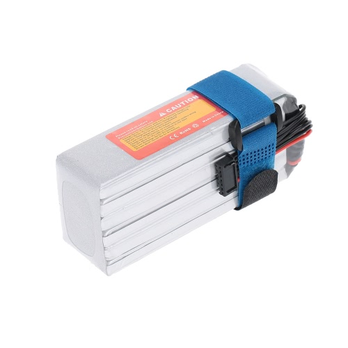 JHpower 22.2V 2600mAh 35C 6S LiPo Batterie Avec T Plug pour RC Car Airplane Helicopter