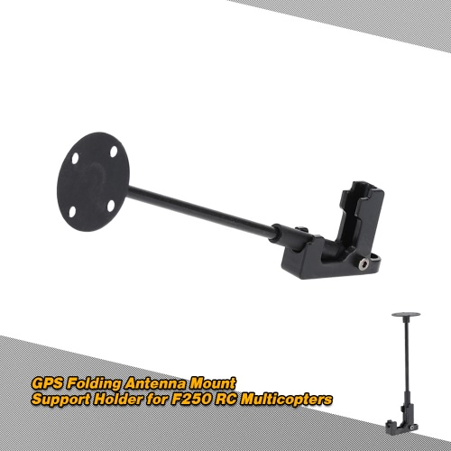GPS Folding Antenna Mount Support Holder for F250 RC Multicopters