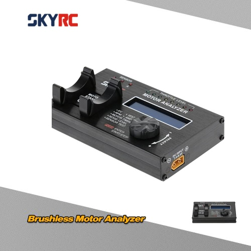 SKYRC Brushless Motor Analyzer with LCD Display Screen for RC Car Motor