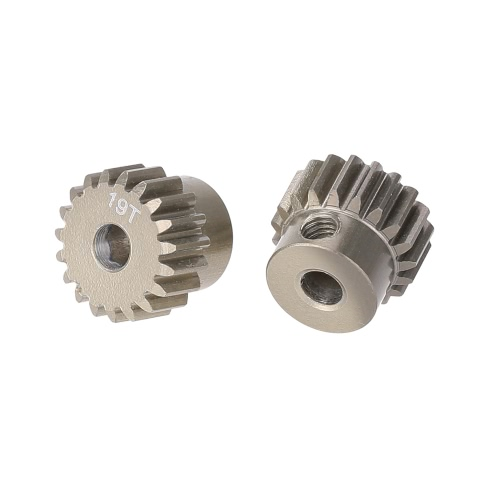 GoolRC 2Pcs 48DP 3.175mm 19T Pinion Motor Gear for 1/10 RC Car Brushed Brushless Motor