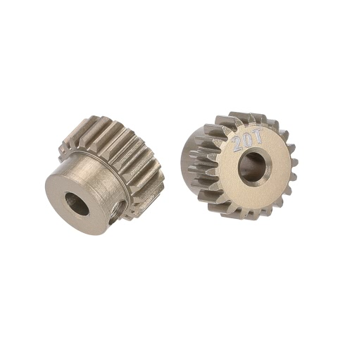GoolRC 2Pcs 48DP 3.175mm 20T Pinion Motor Gear for 1/10 RC Car Brushed Brushless Motor