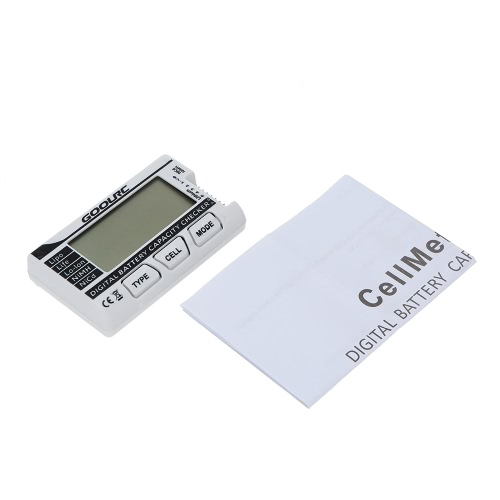 GoolRC Inteligentny cyfrowy kontroler pojemności baterii LiPo LiFe Li-ion NiMH NiCd Battery