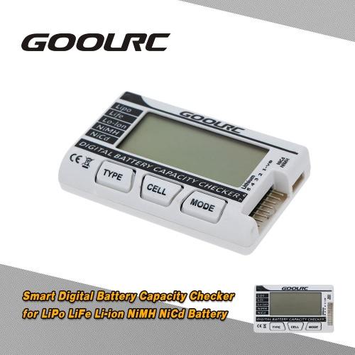 GoolRC Smart batteria digitale capacità Checker per la vita di LiPo NiMH NiCd Li-ion batteria