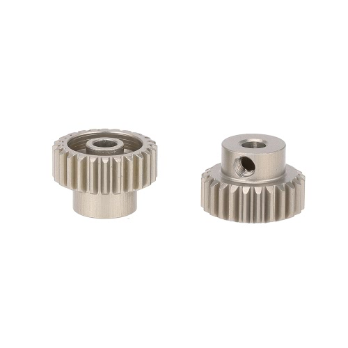 GoolRC 2Pcs 48DP 24T Pinion Motor Gear pour 1/10 RC Car Brushed Brushless Motor
