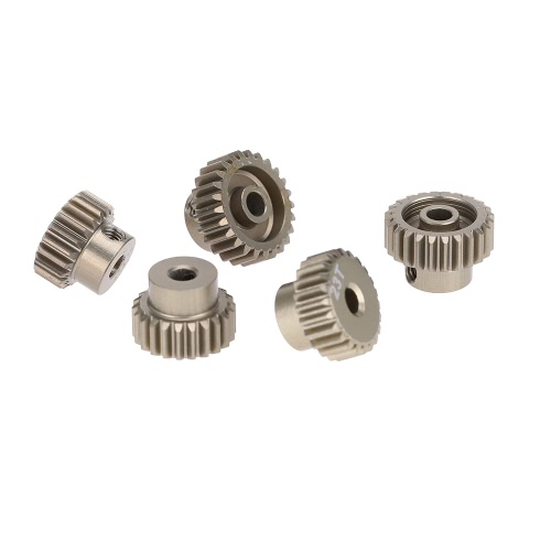 GoolRC 48DP 21T 22T 23T 24T 25T Pinion Motor Gear Combo Set for 1/10 RC Car Brushed Brushless Motor