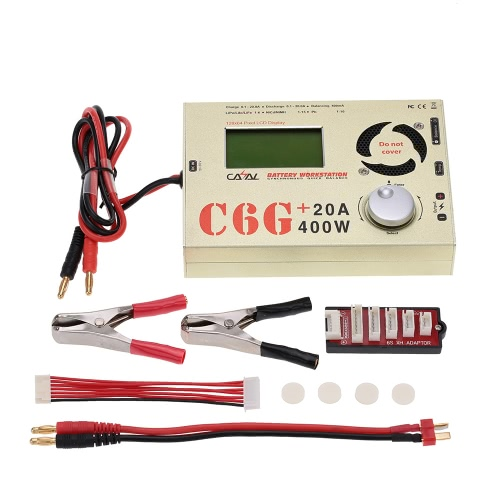 CASAL C6G 20A 400W Battery Balance Charger for RC LiPo NiCd/NiMH Pb Battery