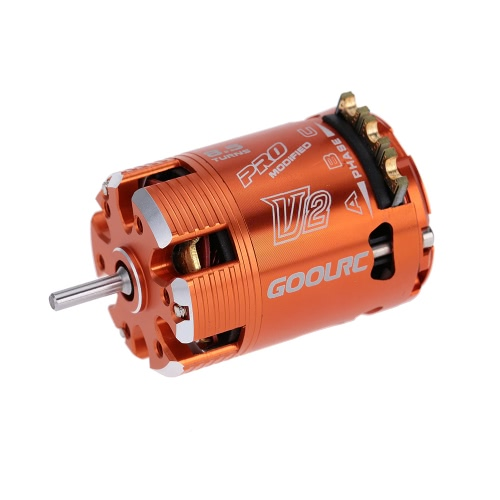 GoolRC 540 8.5T Sensored Brushless Motor for 1/10 On-road Drifting 1/10 Off-road Buggy