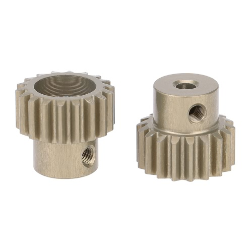 GoolRC 2Pcs 32DP 3.175mm 18T Pinion Motor Gear Set for 1/10 RC Car Brushed Brushless Motor