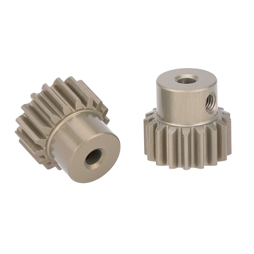 GoolRC 2Pcs 32DP 3.175mm 17T Pinion Motor Gear Set for 1/10 RC Car Brushed Brushless Motor