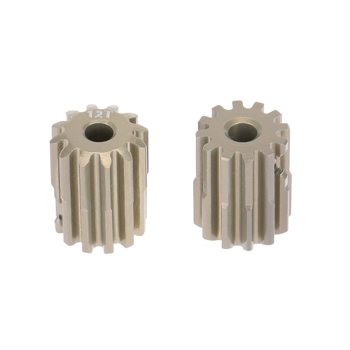 GoolRC 2Pcs 32DP 3.175mm 12T Pinion Motor Gear for 1/10 RC Car Brushed Brushless Motor
