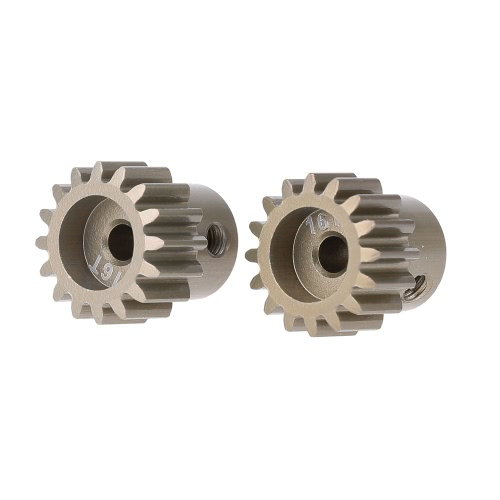 GoolRC 2Pcs 32DP 3.175mm 16T Pinion Motor Gear Set for 1/10 RC Car Brushed Brushless Motor
