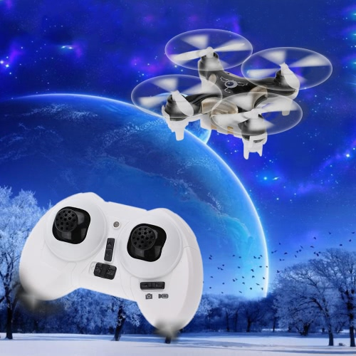 Original Cheerson CX-10C 2.4G 6-Axis Gyro RTF Mini Drone Avec 0.3MP caméra