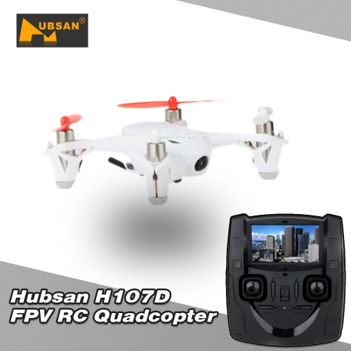 Original Hubsan X4 H107D RC Mini 5.8G FPV RTF 6-axis Gyro Quadcopter w/ LCD Transmitter/0.3MP Camera Mode 1