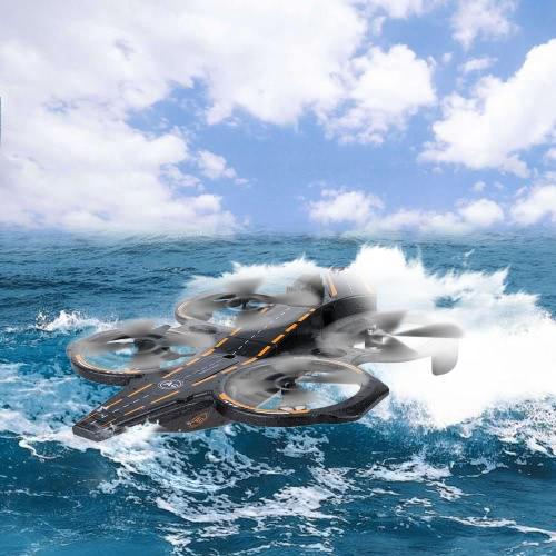 Wltoys Q202 2.4G 4CH 6-Axis Gyro Triphibian Carrier Aircraft RTF Quadcopter with LED Light