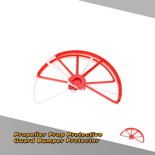 4Pcs Red and White Removable Propeller Prop Protective Guard Bumper Protector for DJI Phantom 1 2 3 RC Quadcopter