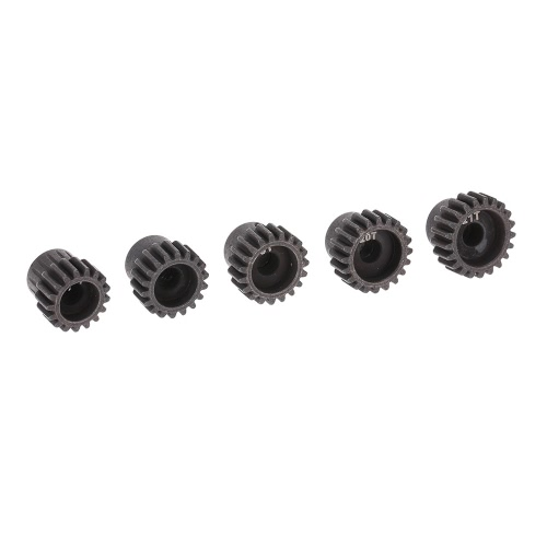 GoolRC 5Pcs 32DP 5mm 17T 18T 19T 20T 21T Motor Pinion Gear Combo Set for 1/10 RC Car Brushed Brushless Motor