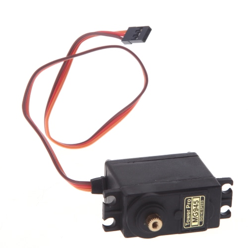 4pcs MG945 13kg High Torque Metal Gear Servo Upgraded MG995 for RC Car Boat Plane