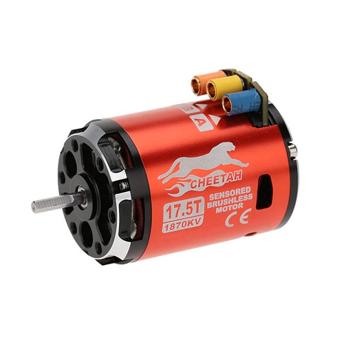 SkyRC 1870KV 17.5T 2P Brushless Sensored/Sensorless motore & CS60 60A Brushless Sensored/Sensorless ESC & LED programma scheda Combo Set per 1/10 1/12 Buggy Touring Car