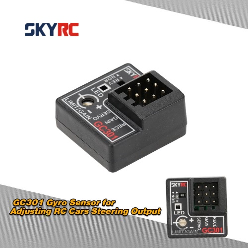 SKYRC GC301 Gyro Sensor for Adjusting RC Cars Steering Output