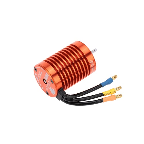 SKYRC 9T 4370KV Brushless Motor &  60A Brushless ESC with 5V/2A BEC Linear Mode & Program Card Combo Set for 1/10 RC Car