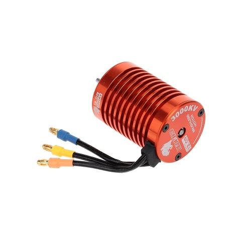 BCA1201 13T 3000KV Brushless Motor y 60A ESC sin cepillo con 5V/2A modo de BEC lineal y programa tarjeta Combo Set para coche RC 1/10