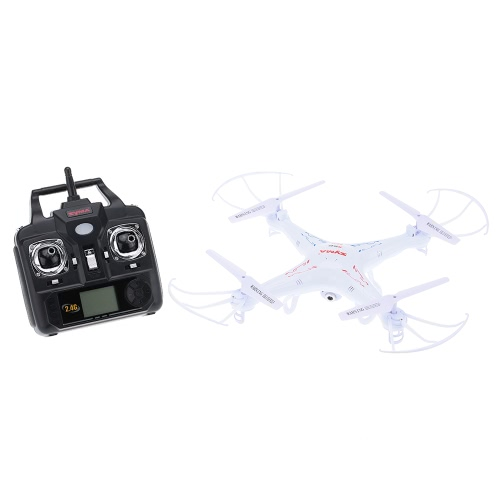 Quadcopter Télécommande Originale Syma X5C 2.4GHz 4CH 6 Axes avec Caméra HD 2.0MP