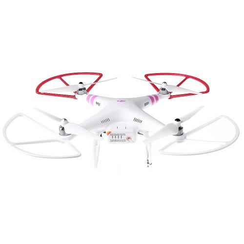 GoolRC 4Pcs Propeller Prop Protector Guard Protetor de proteção para DJI Phantom 1 2 Quadcopter de visão Vermelho e branco (Guarda protetora, Protetor protetor Phantom DJI, Protetor Protetor de hélice)