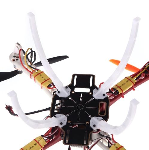 Усиливают расширить шасси скиды белый DJI F450 F550 SK480 Qudcopter multirotor части (DJI F450 шасси, DJI F550 шасси SK480 шасси)