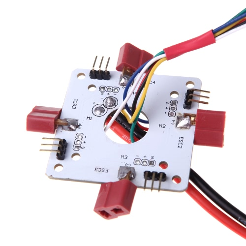 T Plug Power Distribution Board for RC Quadcopter APM  PX4 & Paparazzi Flight Controller  Board(Power Distribution Board,ESC Distribution Board,Quadcopter Part Distribution Board )