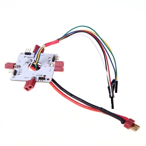 T Plug Board de distribution d'alimentation pour RC Quadcopter APM PX4 et Paparazzi Flight Controller Board (Power Distribution Board, ESC Distribution Board, Quadcopter Part Distribution Board)