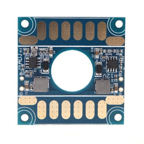 5V 12V Voltagem ajustável Placa de saída Dual BEC Placa de conexão de distribuição ESC (placa de conexão de distribuição ESC, placa de saída Dual BEC, 5V 12V Dual BEC)