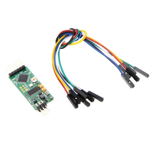 GoolRC OSD Zgodny z oryginalnym MinimOSD ATmega328P mikrokontrolera dla RC FPV Flight część sterująca (Crius MAVLink-OSD, MinimOSD ATmega328P)