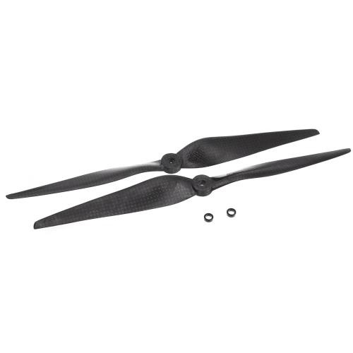 "One Pair 1150 11 * 5 ""Carbon Fiber CW / CCW Propeller Prop para DJI F450 F550 Tarot FPV Quadcopter Multirotor Part (1150 hélices, hélice CARBON FIBER, hélice Quadcopter 1150)"