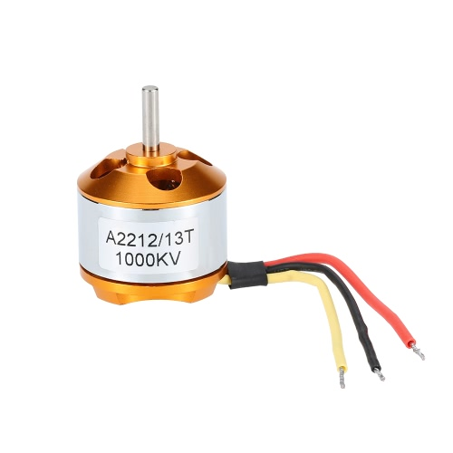 GoolRC A2212 1000KV Brushless Motor w/30A Brushless ESC and Pair 1045 Propeller for DJI F450 F550 Quadcopter FPV Part(A2212 1000KV Brushless Motor,30A Brushless ESC,1045 Propeller)