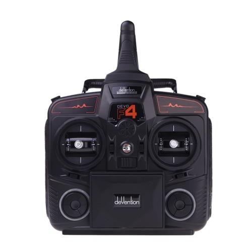 Walkera DEVO F4 2.4G 4CH FPV Trasmettitore LCD 5.8G Live Radio Remote Control TX Modello TX 2 (trasmettitore Walkera, trasmettitore FVO FVV DEVO, radiocomando a distanza)