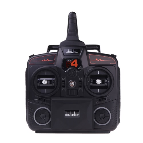 Walkera DEVO F4 2.4G 4CH Transmetteur FPV LCD 5.8G Vidéo en direct Remote Radio Control TX Modèle 2 (Transmetteur Walkera, transmetteur DEVO F4 FPV, télécommande radio)