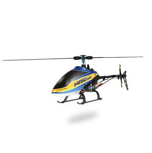 Helicóptero Walkera V450D03 6CH 450 RC FBL sem transmissor BNF