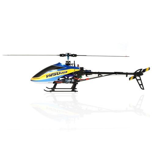 Walkera V450D03 6CH 450 RC FBL hélicoptère w / 7 Transmetteur DEVO (450 Walkera hélicoptère, Walkera V450D03, DEVO 7 Transmetteur)