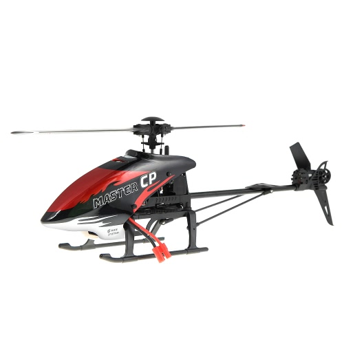 Walkera MASTER CP Flybarles 6-Axis Gyro 6CH RC Helicopter w/ DEVO 7 Transmitter