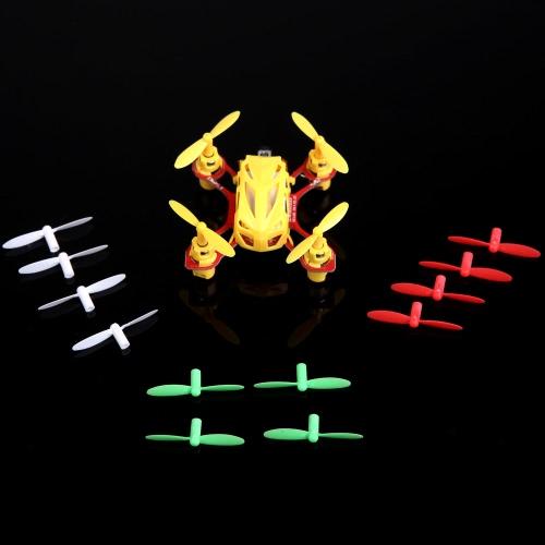 Wltoys KV272-001 Hélices multicolores Ensembles de lames pour RC Mini Quadcopter Wltoys V272 V282 V292 hélices Blade Part (Wltoys KV272-001, Wltoys V272 V282 V292 hélice, Wltoys V272 V282 V292 Blade)