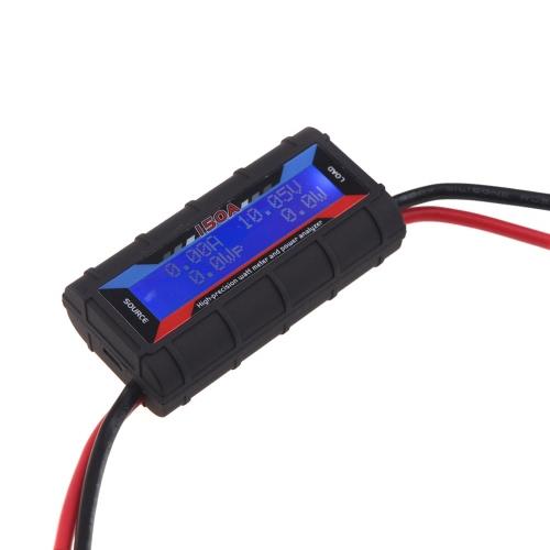 FT08 RC 150A Hight precyzyjny miernik Watt i analizator mocy w / podświetlenia LCD (150A Watt Meter, RC Zasilanie Analizator RC Watt Meter)