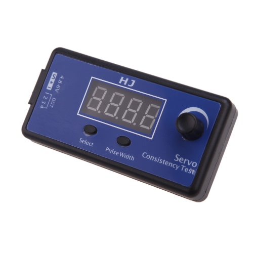HJ Digital Servo Tester / ESC Consistency Tester for RC Helicopter Airplane Car(Servo Tester,ESC Consistency Tester,RC Helicopter Tester Tool)