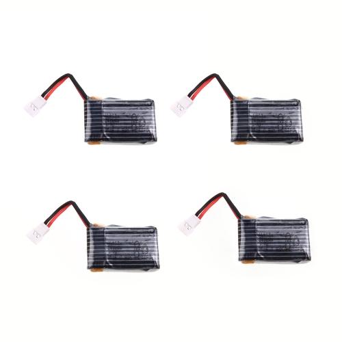4pcs 100% originale Hubsan parte H107-A05 H107C H107D LiPo 3.7V 240mAh per Hubsan H107C H107D Mini Qudcopter Part (Hubsan H107C H107D LiPo batteria, Hubsan H107C H107D Parte)