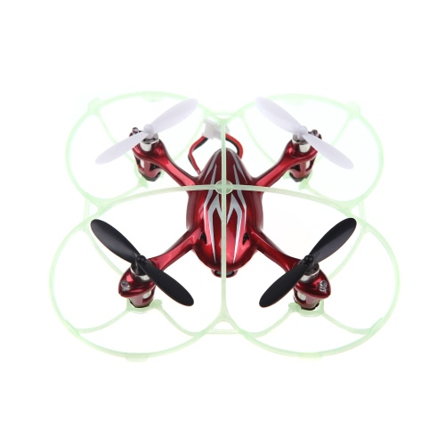 100% оригинальные Hubsan H107C H107L часть H107C-А19 PRO обновления защиты покрытия зеленый для Hubsan H107C H107L Wltoys V252 JD385 мини Qudcopter часть (Hubsan H107C H107L защитная крышка, крышка защиты Wltoys V252, JD385 покрытия для защиты)